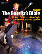 "Cover of ""The Bassist's Bible: How to Play Every Bass Style from Afro-Cuban to Zydeco"