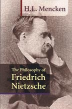 Philosophy of Friedrich Nietzsche, by H.L. Mencken, front cover