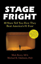 Cover for Stage Fright:40 Stars Tell You How You Can Beat America's #1 Fear