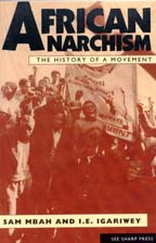 Cover of African Anarchism: The History of a Movement