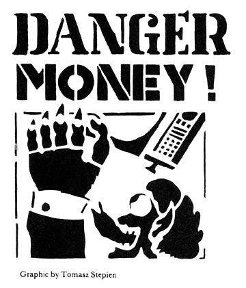 """Danger Money"" graphic by Tomasz Stepien"