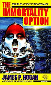 The Immortality Option by James P. Hogan cover