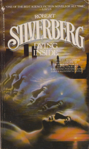 Dying Inside, by Robert Silverberg, cover