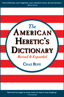 American Heretic's Dictionary (Revised & Expanded) front cover
