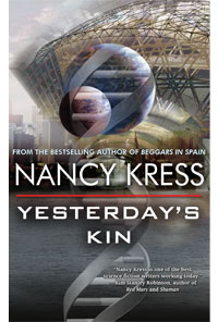 Yesterday's Kin, by Nancy Kress front cover