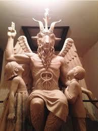 Satanic Temple's Baphomet statue
