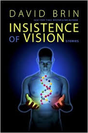 Insistence of Vision, by David Brin, cover
