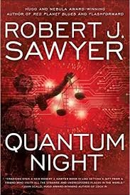 Quantum Night, by Robert J. Sawyer front cover