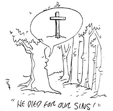 cartoon by Pamela Sutter
