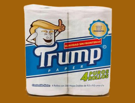 A popular brand of Mexican toilet paper