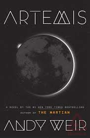Artemis, by Andy Weir front cover
