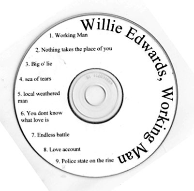 Willie Edwards Working Man CD